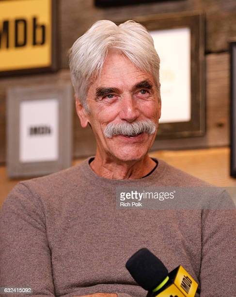 Actor Sam Elliott of The Hero attends The IMDb Studio featuring the Filmmaker Discovery Lounge presented by Amazon Video Direct Day Three during The...
