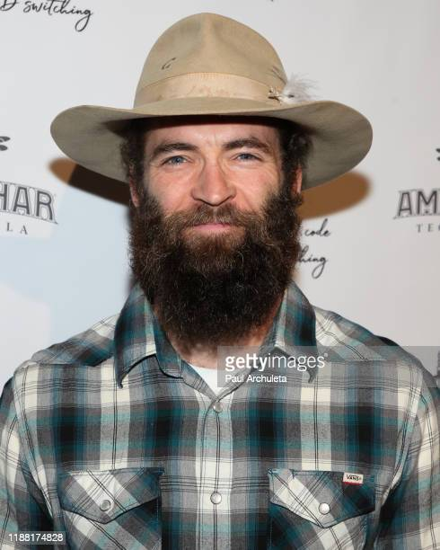 Actor Sam Hargrave attends the media night preview of BROKEN Code BIRD Switching at S Feury Theater on November 16 2019 in Los Angeles California