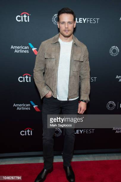 Actor Sam Heughan attend the Outlander 2018 Paleyfest NY at The Paley Center for Media on October 5 2018 in New York City