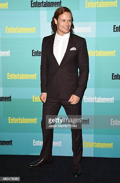 Actor Sam Heughan attends Entertainment Weekly's ComicCon 2015 Party sponsored by HBO Honda Bud Light Lime and Bud Light Ritas at FLOAT at The Hard...