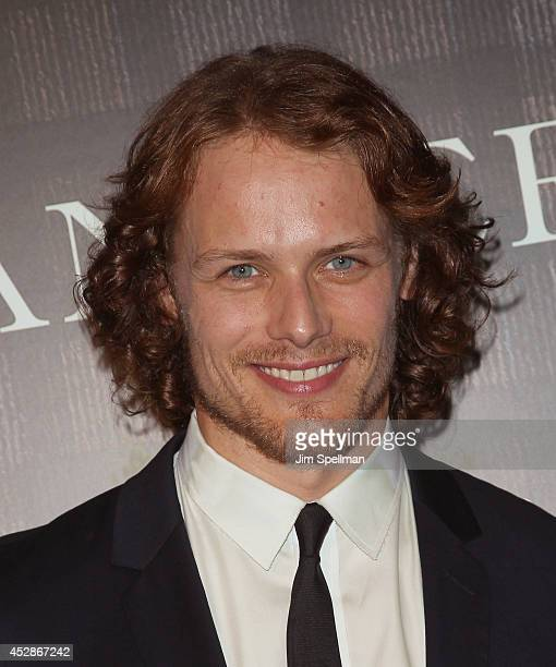 Actor Sam Heughan attends the 'Outlander' series screening at 92nd Street Y on July 28 2014 in New York City