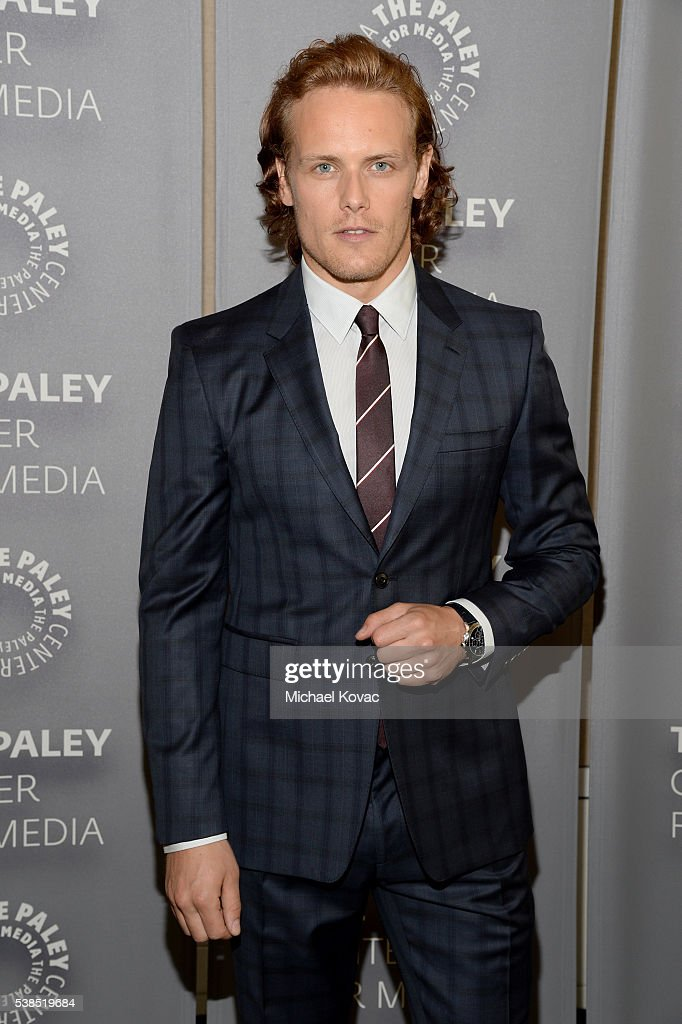 Actor Sam Heughan attends The Paley Center for Media presents The Artistry of 'Outlander' at The Paley Center for Media on June 6, 2016 in Beverly Hills, California.