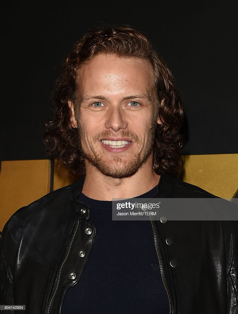 Actor Sam Heughan attends the STARZ Pre-Golden Globe Celebration at Chateau Marmont on January 8, 2016 in Los Angeles, California.