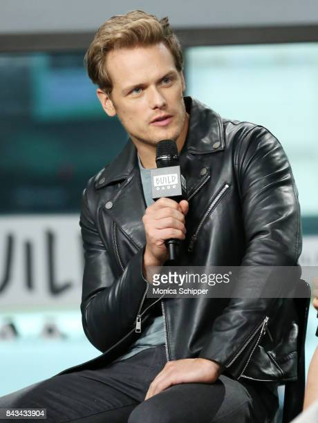 Actor Sam Heughan discusses Outlander at Build Studio on September 6 2017 in New York City