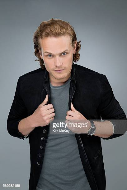 Actor Sam Heughan is photographed for Los Angeles Times on June 6 2016 in Los Angeles California PUBLISHED IMAGE CREDIT MUST READ Kirk McKoy/Los...