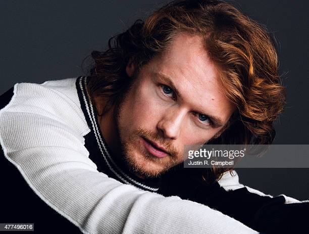 Actor Sam Heughan is photographed for Self Assignment on November 19 2014 in Los Angeles California