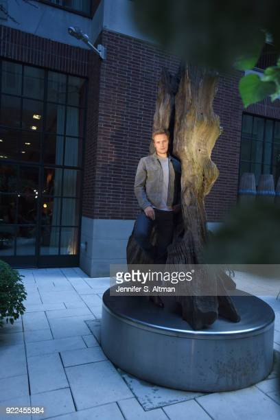Actor Sam Heughan is photographed for USA Today on September 7 2017 in New York City