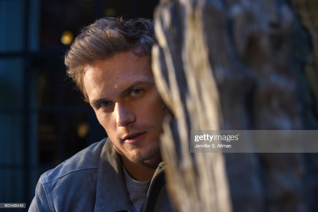 Actor Sam Heughan is photographed for USA Today on September 7, 2017 in New York City.