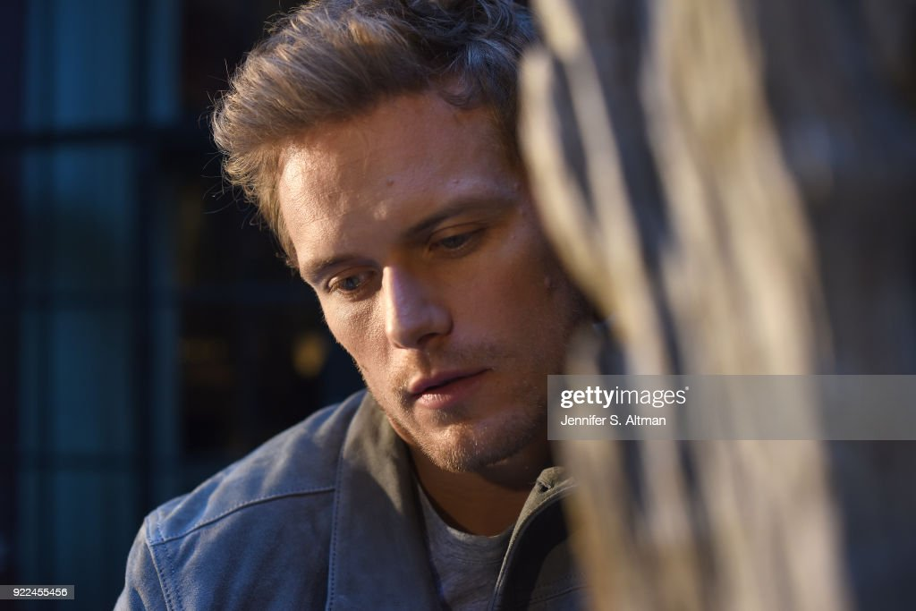 Sam Heughan, USA Today, September 11, 2017 : News Photo