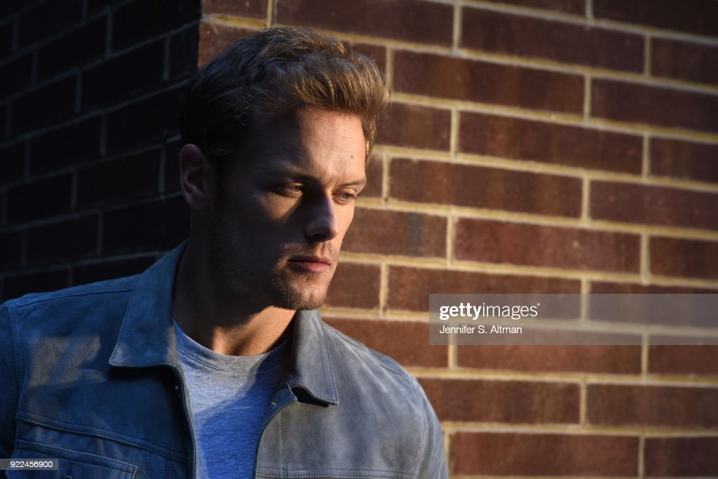 Actor Sam Heughan is photographed for USA Today on September 7, 2017 in New York City. PUBLISHED