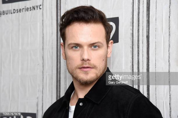 Actor Sam Heughan visits Build Series to discuss the Starz series 'Outlander' at Build Studio on October 31 2018 in New York City