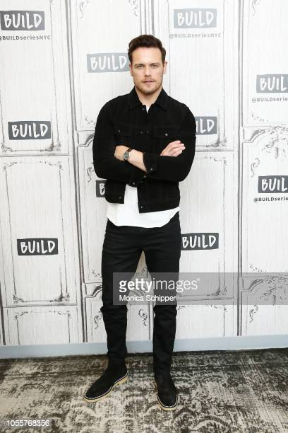 Actor Sam Heughan visits Build Studio to discuss the television series 'Outlander' on October 31 2018 in New York City