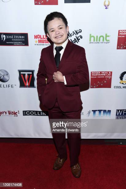 Actor Sam Humphrey attends the 5th Annual Roger Neal and Maryanne Lai Oscar Viewing DinnerIcon Awards and After Party at The Hollywood Museum on...