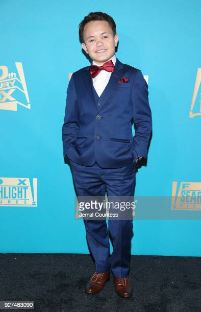 Actor Sam Humphrey attends the Fox Searchlight And 20th Century Fox Oscars PostParty on March 4 2018 in Los Angeles California