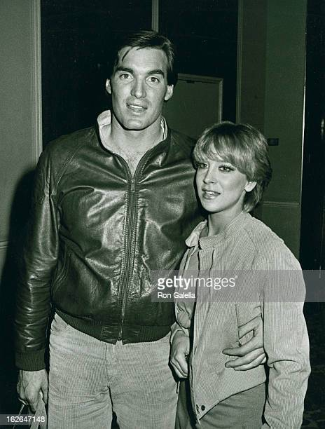 Actor Sam Jones and wife Lynn Eriks attend rehearsals for 39th Annual Golden Globe Awards on January 29 1982 at the Beverly Hilton Hotel in Beverly...