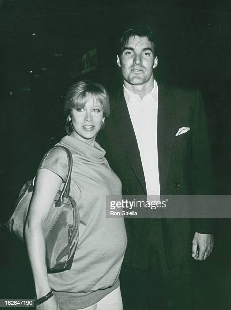 Actor Sam Jones and wife Lynn Eriks attends ABC Affiliates Party on May 9 1983 at the Century Plaza Hotel in Century City California