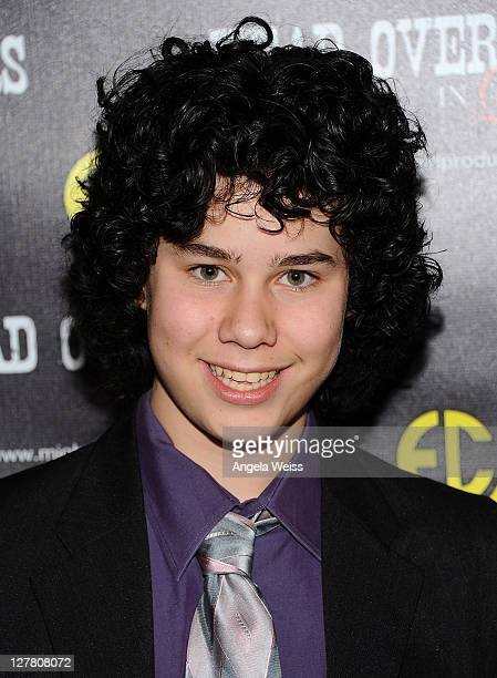 Actor Sam Lant arrives at the world premiere of 'Head Over Spurs In Love' at Majestic Crest Theatre on March 24, 2011 in Los Angeles, California.