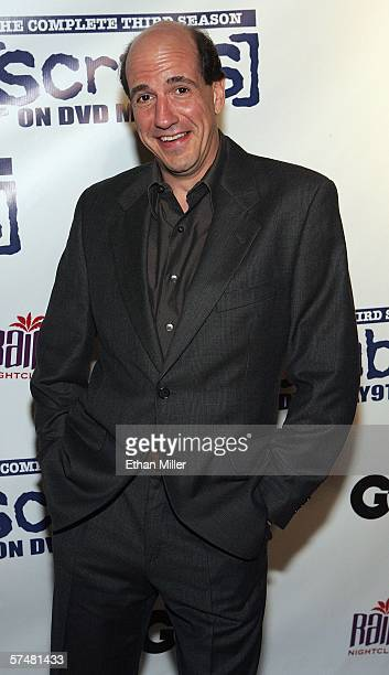 """Actor Sam Lloyd arrives at a third season DVD launch event and season five wrap party for the television series """"Scrubs"""" at the Rain Nightclub inside..."""
