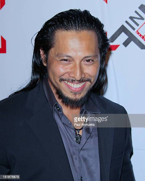 Actor Sam Medina attends the Blood Out Los Angeles premiere at the Directors Guild Of America on April 25 2011 in Los Angeles California