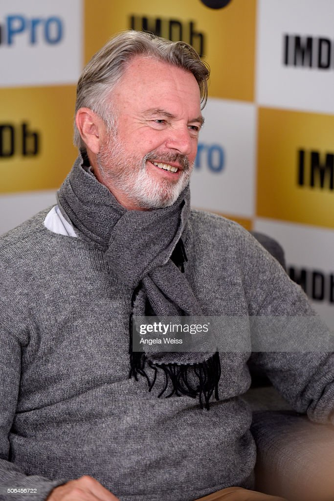 Actor Sam Neill in The IMDb Studio In Park City, Utah: Day Two - on January 23, 2016 in Park City, Utah.