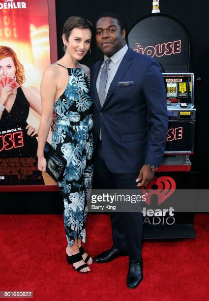 Actor Sam Richardson and guest attend the Los Angeles Premiere of Warner Bros Pictures' 'The House' at TCL Chinese Theatre on June 26 2017 in...