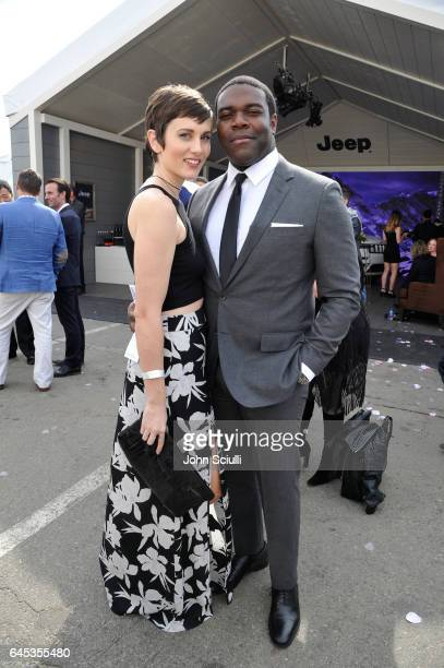 Actor Sam Richardson and Nicole Boyd attend the 2017 Film Independent Spirit Awards sponsored by Jeep at Santa Monica Pier on February 25 2017 in...