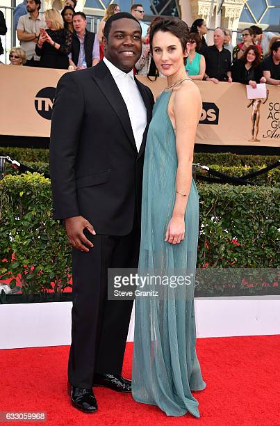 Actor Sam Richardson and Nicole Boyd attend the 23rd Annual Screen Actors Guild Awards at The Shrine Expo Hall on January 29 2017 in Los Angeles...