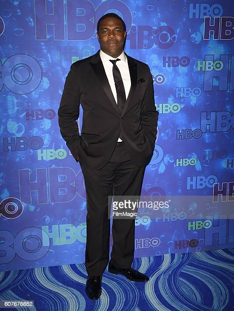 Actor Sam Richardson attends HBO's Official 2016 Emmy After Party at The Plaza at the Pacific Design Center on September 18 2016 in Los Angeles...