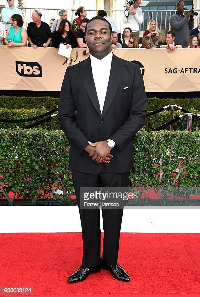 Actor Sam Richardson attends The 23rd Annual Screen Actors Guild Awards at The Shrine Auditorium on January 29 2017 in Los Angeles California...