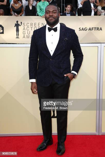 Actor Sam Richardson attends the 24th Annual Screen Actors Guild Awards at The Shrine Auditorium on January 21 2018 in Los Angeles California...