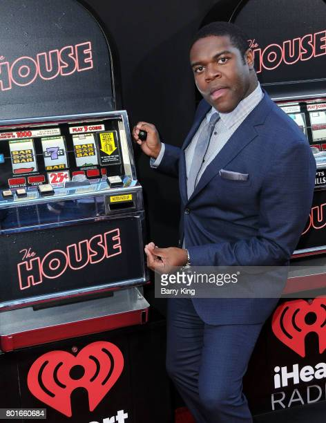 Actor Sam Richardson attends the Los Angeles Premiere of Warner Bros Pictures' 'The House' at TCL Chinese Theatre on June 26 2017 in Hollywood...