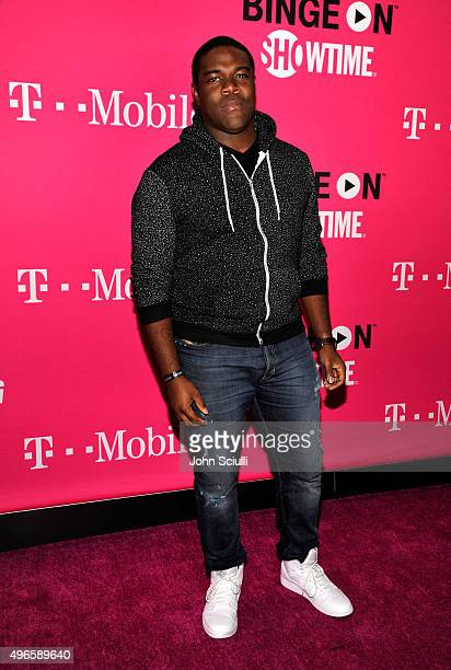 Actor Sam Richardson attends TMobile Uncarrier X Launch Celebration at The Shrine Auditorium on November 10 2015 in Los Angeles California