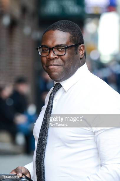 Actor Sam Richardson enters the 'The Late Show With Stephen Colbert' taping at the Ed Sullivan Theater on June 14 2017 in New York City
