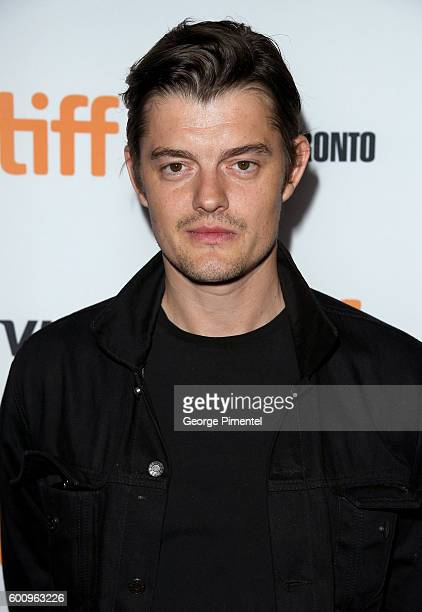 Actor Sam Riley attends the Free Fire premiere screening party hosted by Bulleit at Early Mercy on September 8 2016 in Toronto Canada