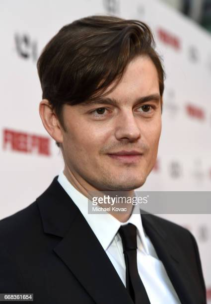 Actor Sam Riley attends The Los Angeles Premiere Of 'Free Fire' Presented By Casa Noble Tequila on April 13 2017 in Los Angeles California