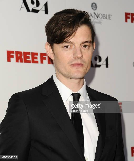 Actor Sam Riley attends the premiere of 'Free Fire' at ArcLight Hollywood on April 13 2017 in Hollywood California