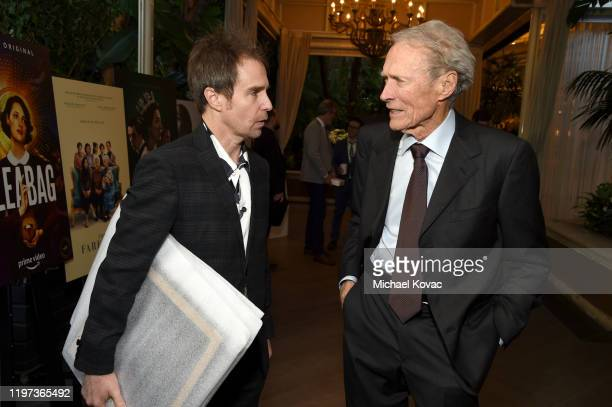 Actor Sam Rockwell and director Clint Eastwood attend the 20th Annual AFI Awards at Four Seasons Hotel Los Angeles at Beverly Hills on January 03,...