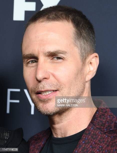 US actor Sam Rockwell arrives for the FYC red carpet event of Fox21 TV Studios FX's Fosse/Verdon at the Samuel Goldwyn Theater in Beverly Hills on...