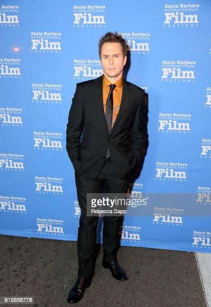 Actor Sam Rockwell at The American Riviera Award Honoring Sam Rockwell during The 33rd Santa Barbara International Film Festival at Arlington Theatre...