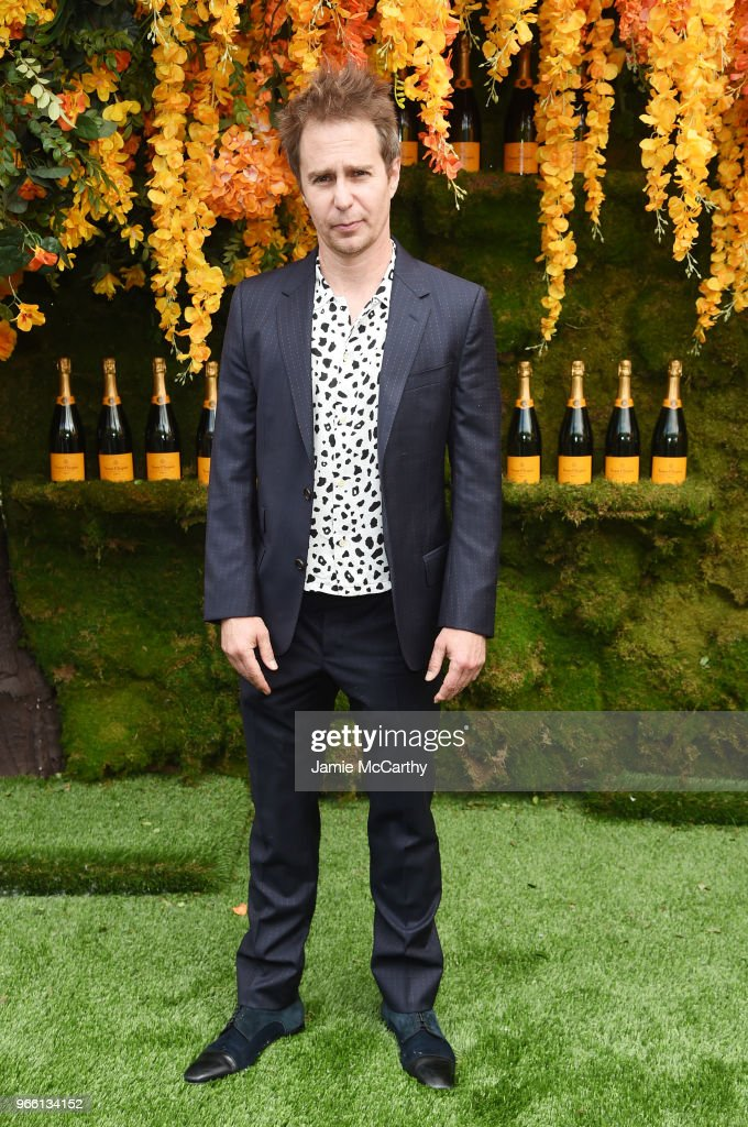 Actor Sam Rockwell attends the 11th annual Veuve Clicquot Polo Classic at Liberty State Park on June 2, 2018 in Jersey City, New Jersey.
