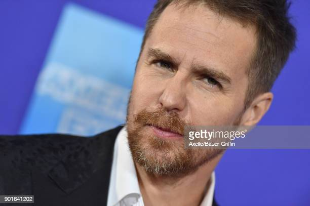 Actor Sam Rockwell attends the 29th Annual Palm Springs International Film Festival Awards Gala at Palm Springs Convention Center on January 2 2018...