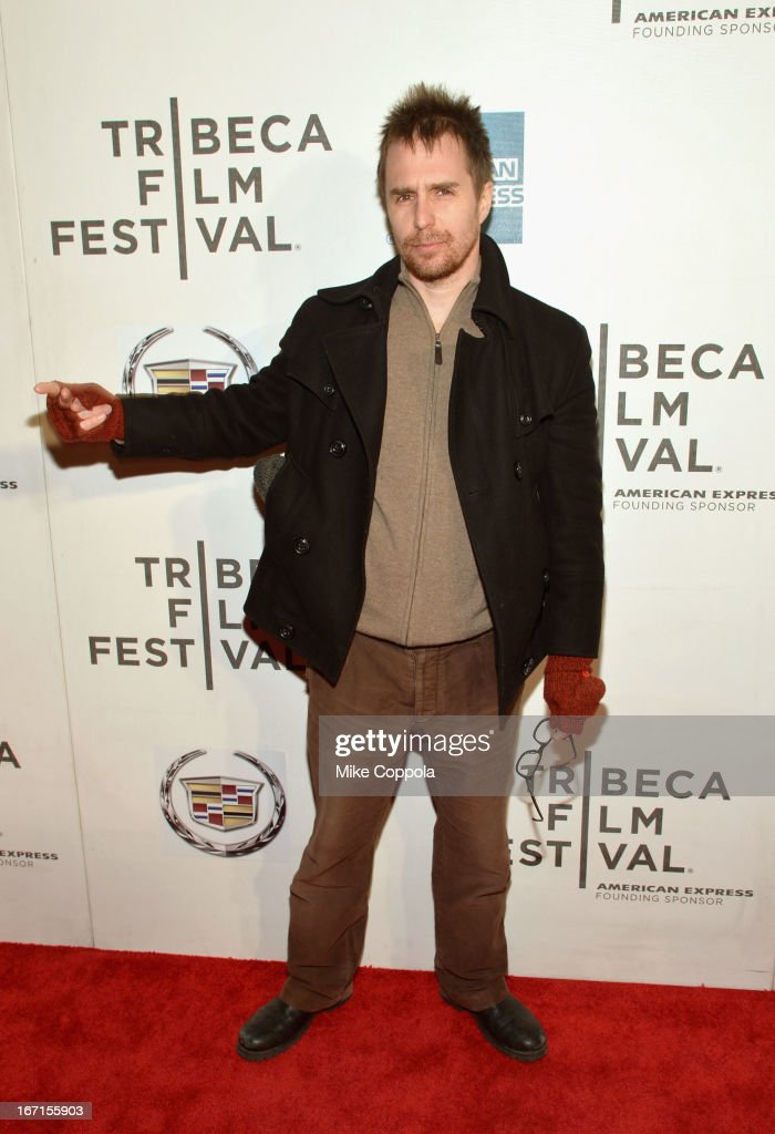Actor Sam Rockwell attends the 'A Case Of You' World Premiere during the 2013 Tribeca Film Festival on April 21, 2013 in New York City.