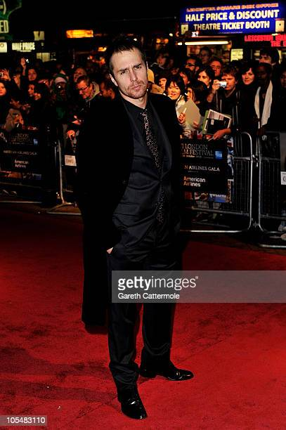 Actor Sam Rockwell attends the Conviction premiere during the 54th BFI London Film Festival at the Vue West End on October 15 2010 in London England
