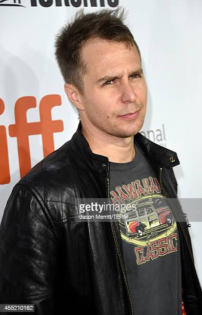Actor Sam Rockwell attends the Laggies premiere during the 2014 Toronto International Film Festival at Roy Thomson Hall on September 10 2014 in...