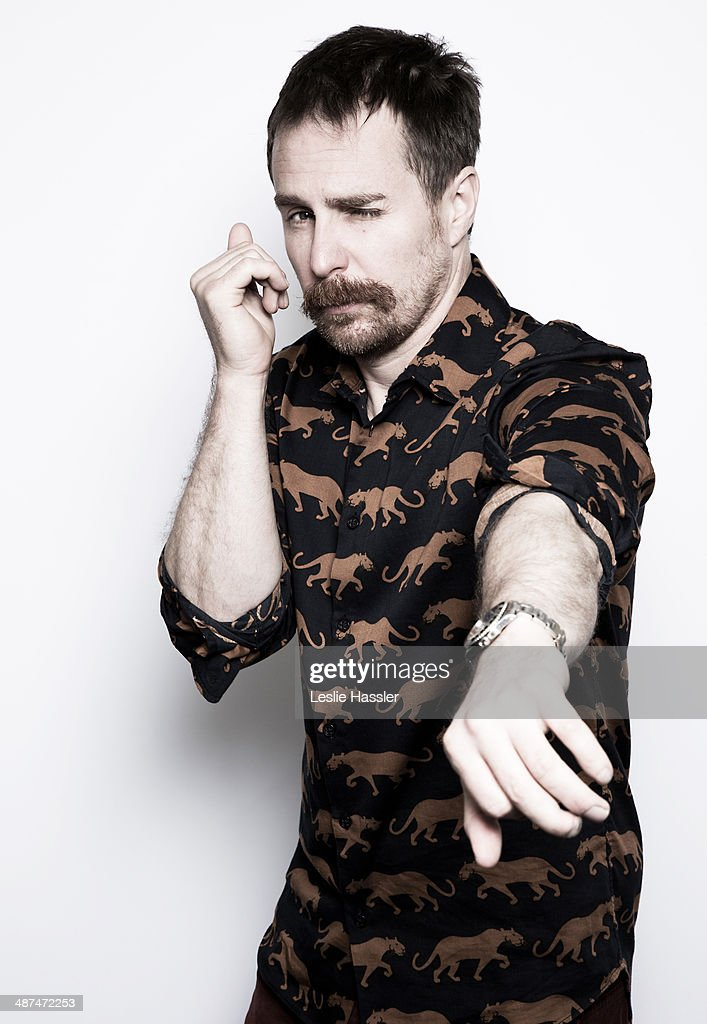Actor Sam Rockwell is photographed at the Tribeca Film Festival on April 21, 2014 in New York City.