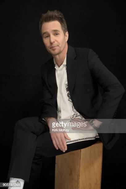 Actor Sam Rockwell is photographed for Los Angeles Times on November 12 2017 in Los Angeles California PUBLISHED IMAGE CREDIT MUST READ Kirk...