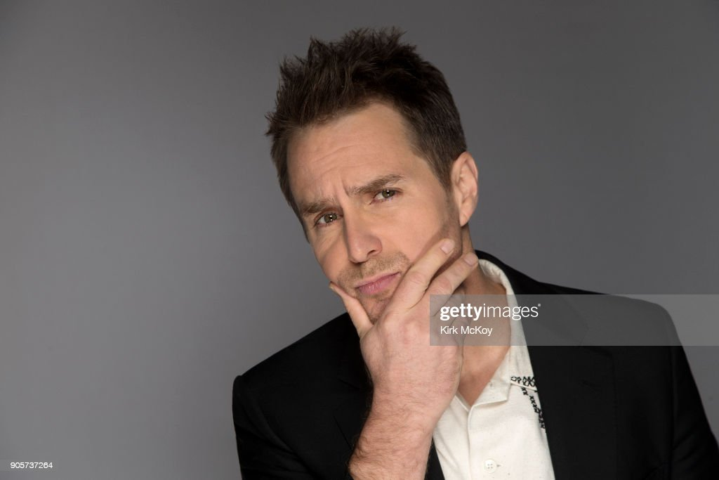 Actor Sam Rockwell is photographed for Los Angeles Times on November 12, 2017 in Los Angeles, California. PUBLISHED IMAGE.