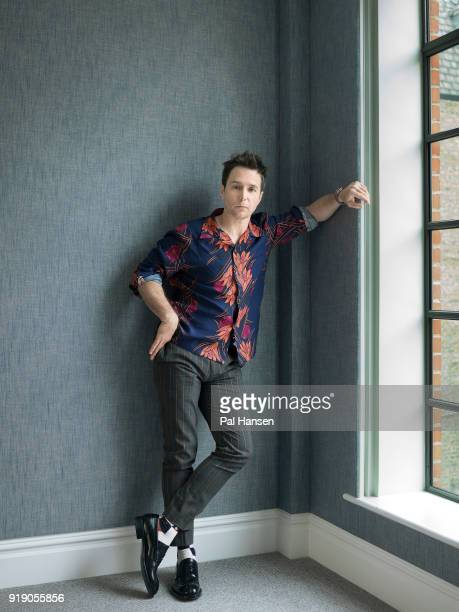 Actor Sam Rockwell is photographed for the Guardian Newspaper on October 14 2017 in London England