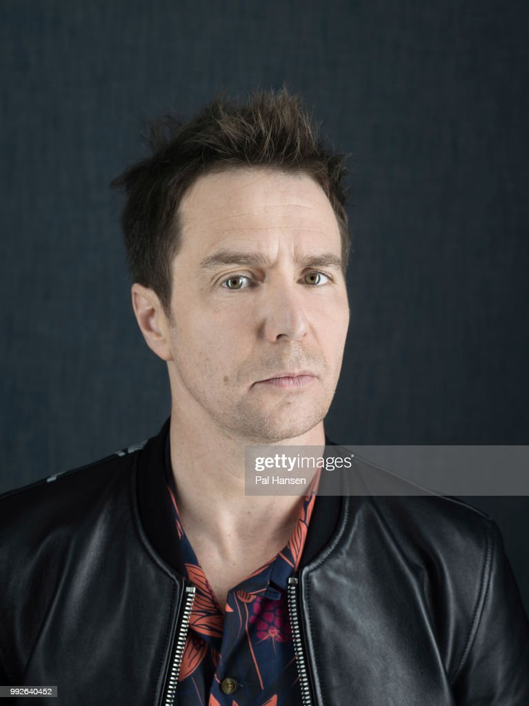 Actor Sam Rockwell is photographed for the Guardian Newspaper on October 14, 2017 in London, England.