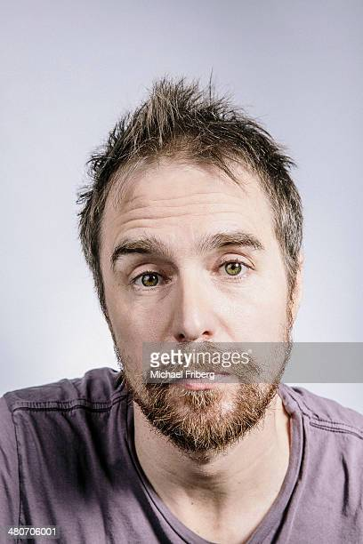 Actor Sam Rockwell is photographed for Variety on January 18 2014 in Park City Utah